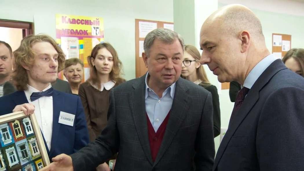Министра Антон Силуанов