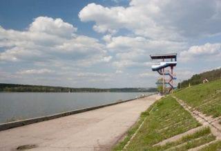Набережная Яченского водохранилища