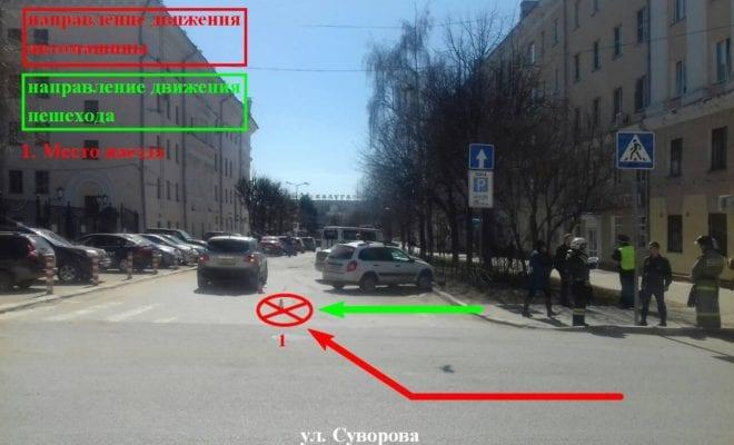 ДТП на Суворова
