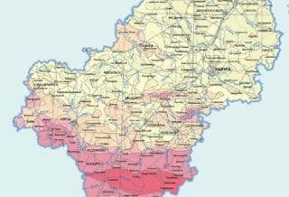 Карта Калужской области