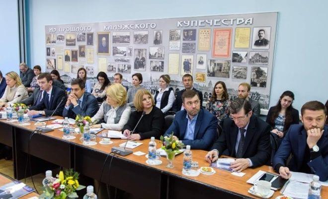 Анатолий Артамонов встретился с калужскими бизнесменами