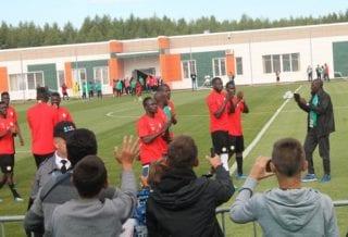 Открытая тренировка Сенегала
