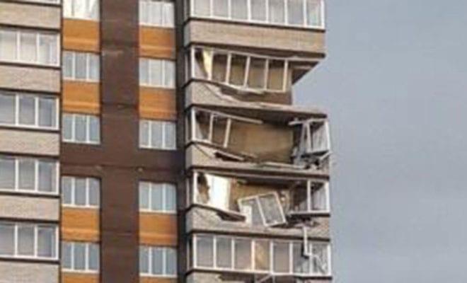 Разрушенные балконы