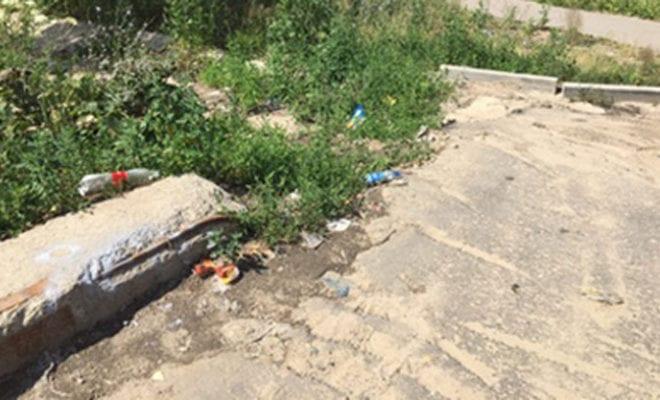 Стоянки мусор