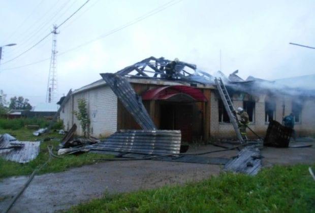 пожар в Кирове