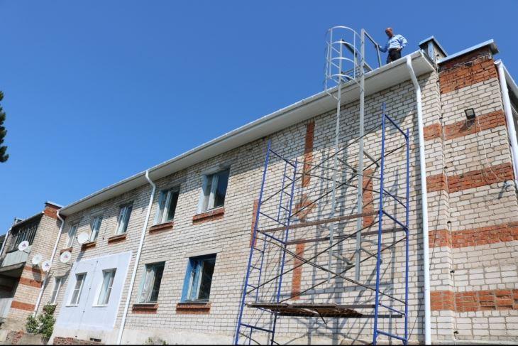 В Ферзиковском районе капитально отремонтировали два дома