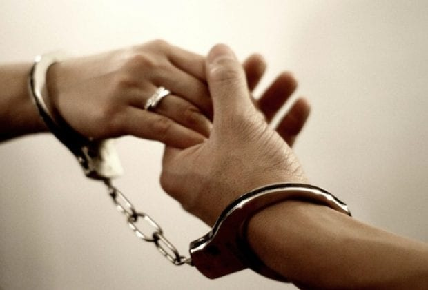 Влюбленные в наручниках