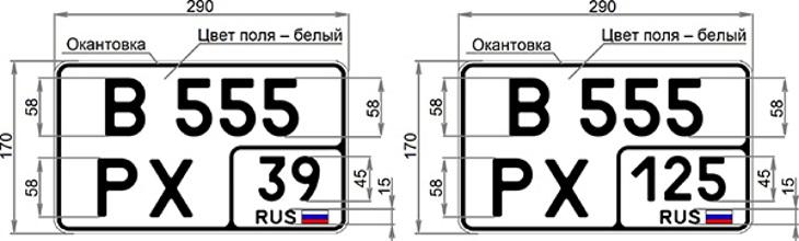 Регистрационные знаки