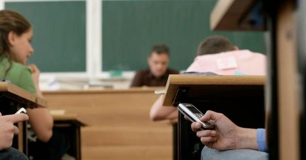 Запрет мобильных телефонов в школе