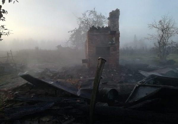 Пожар в Ферзиковском