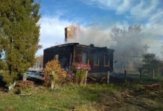 Пожар в Жиздре