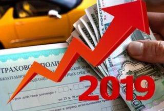 Тарифы на ОСАГО в 2019 году