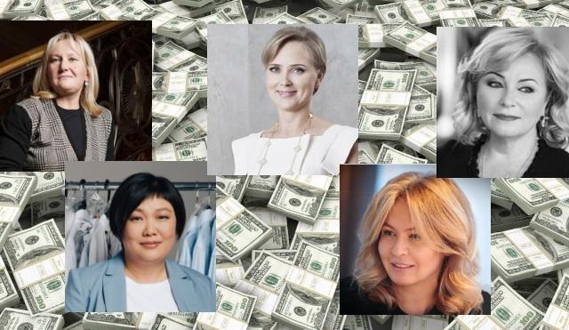 Богатые женщины России