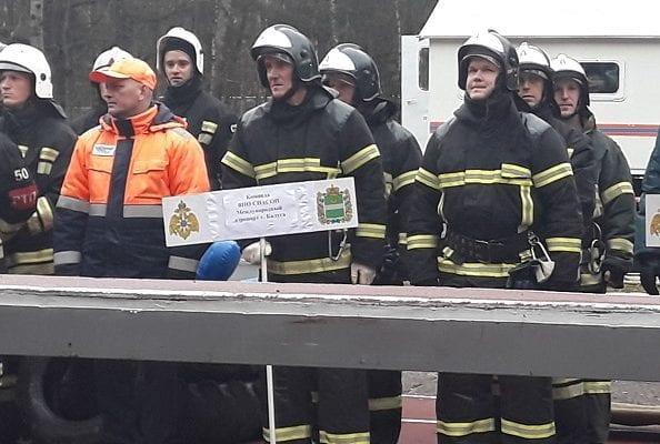 Пожарные из аэропорта