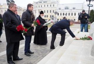 Возложение цветов Ивану 3