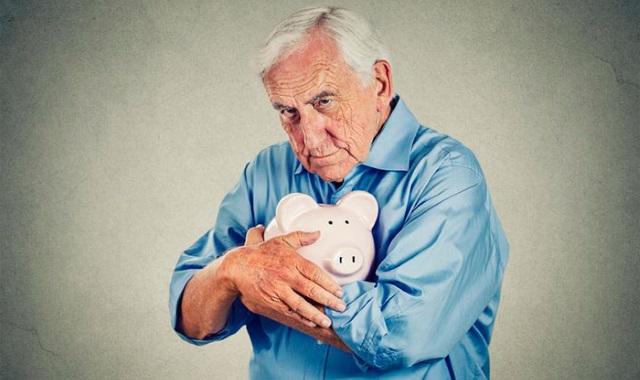 Пенсионер с накопленной пенсией