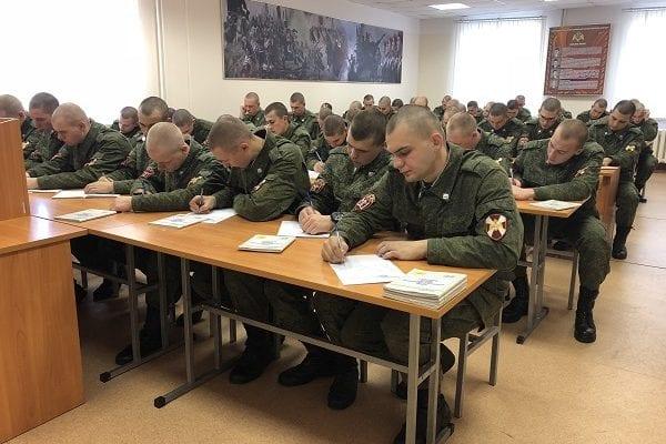 Письма пишут солдаты