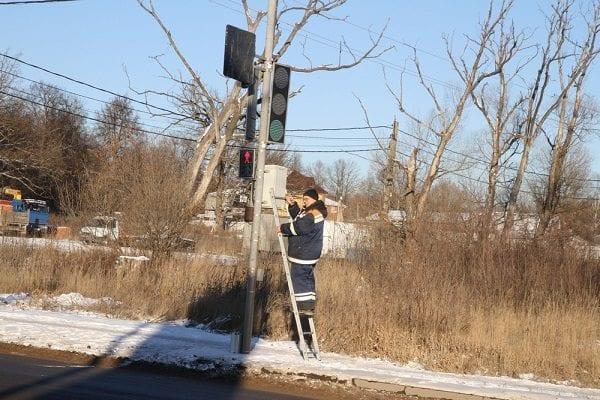 Светофор на Зерновой