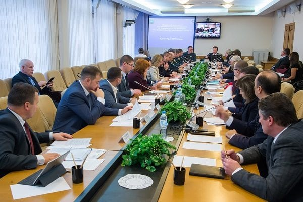 Заседание комиссии ЧС