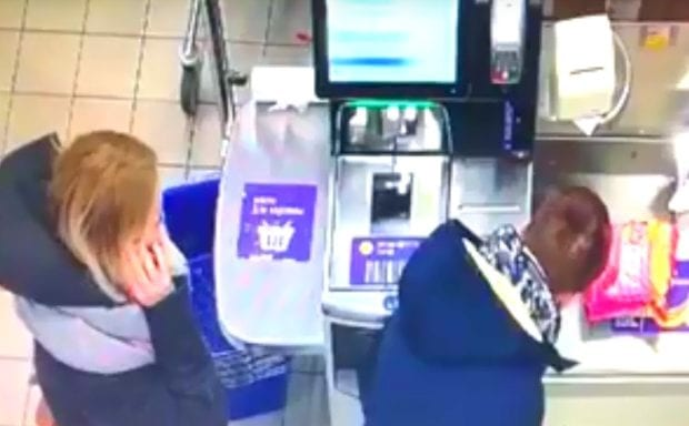 Сбой банкомата