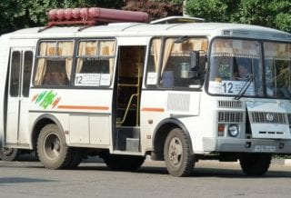 Автобус на газе