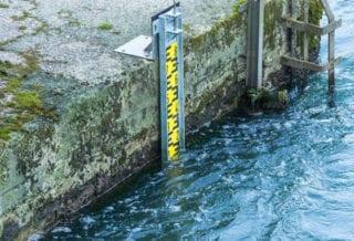 уровень воды