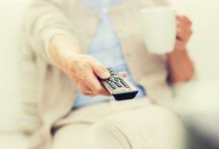 ТВ вредно для пенсионеров