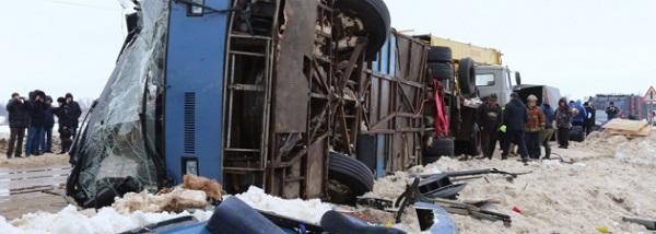 Автобус авария