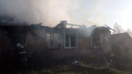 Пожар Сухиничи