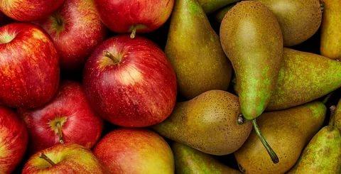 Фрукты Яблоки и груши