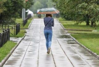 Погода дождливая