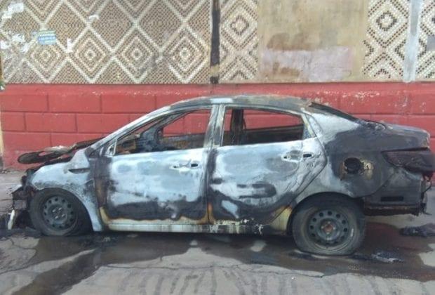 Пожар Калуга ул Чехова