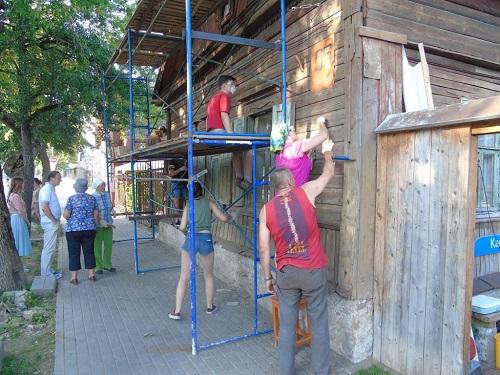 Дом на Рылеева ремонт