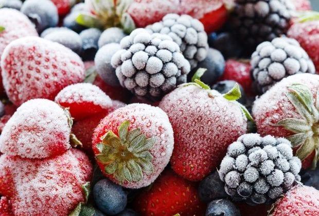 Мороженные фрукты