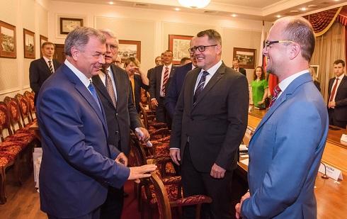 Чешская делегация