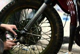 Мотоцикл колесо
