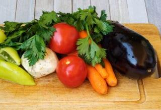 Популярные овощи