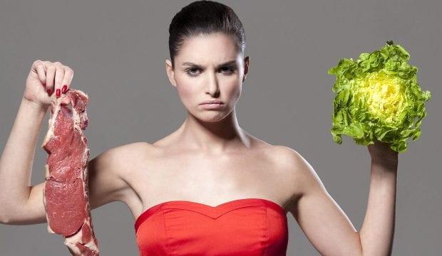 Вегетарианец или мясоед