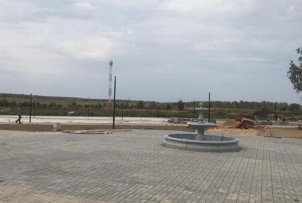 Воротынск фонтан