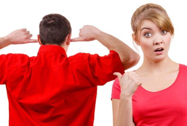 Спор с женщиной